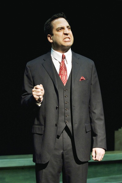 – Marc Grapey in Dead Man's Cell Phone by Sarah Ruhl, directed by Jessica Thebus at Steppenwolf Theatre March 27 – July 27, 2008.