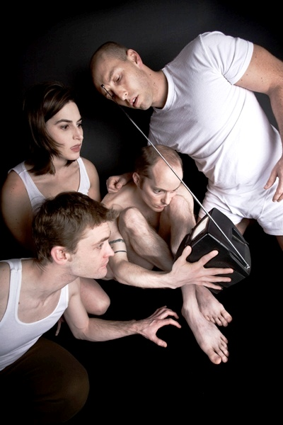 Ryan Walters, Laura McKenzie, Dean Evans and Jay Torrence, taken by Andrew Collings