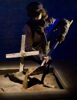 "Redmoon Theatre's triumphant ""Boneyard Prayer"""