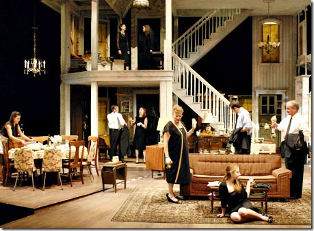 A scene from Broadway's 'August Osage County