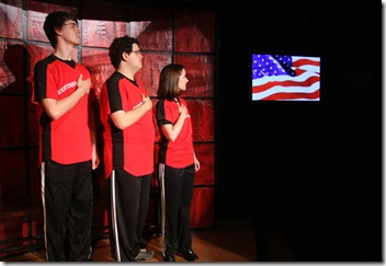 """Star Spangled Banner"" at ComedySportz Chicago"