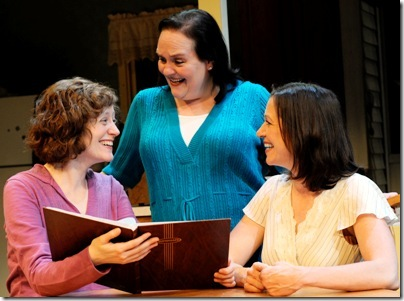 The three sisters for 'Relatively Close' - Penny Slusher, Laura T. Fisher, and Wendi Weber)