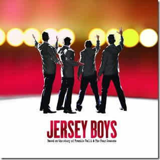"""Jersey Boys"", now playing at the Bank of America Theatre in downtown Chicago"