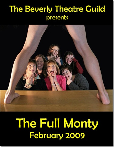 'The Full Monty', presented by the Beverly Arts Guild