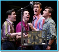 Jersey Boys, now playing in the theatre district in Chicago's Loop