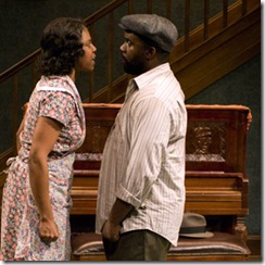 "The cast shines with many experienced August Wilson actors, many of whom have been in productions of ""Piano Lesson"" across the country."