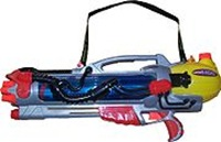 The Super Soaker was invented by Lonnie Johnson, now of Johnson Research Group.
