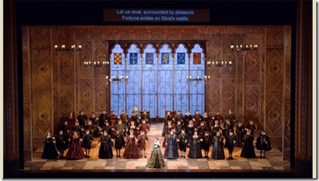 Lyric Opera of Chicago's production of Ernani 10/24/09.
