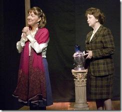 Millicent Hurley (Lettice) and Jan Ellen Graves (Lotte)