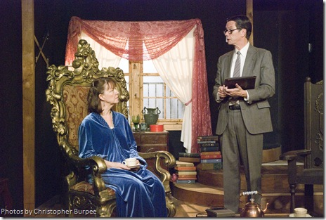 Millicent Hurley (Lettice) and Jim Morley (Bardolph)