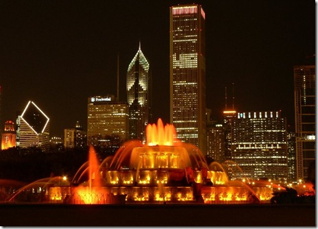 buckingham-fountain-at-night