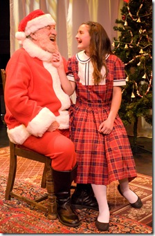 MIRACLE ON 34th STREET--Santa and Susan