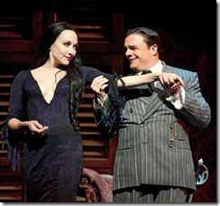 Bebe Neuwirth and Nathan Lane.  Photo by Joan Marcus