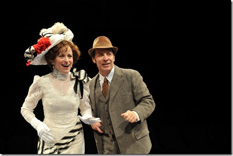 MY FAIR LADY--Heidi Kettenring as Eliza & Kevin Gudahl as Higgins
