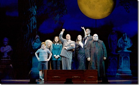 """The Addams Family"" continues through Jan. 10 at the Oriental Theatre, 24 W. Randolph St. Tickets are $28 - $105. For more information, go to www.broadwayinchicago.com"
