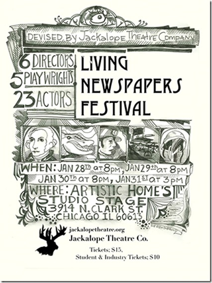 living-newspaper-poster