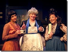 Catherine Ferraro, Mary Redmon and Patricia Austin