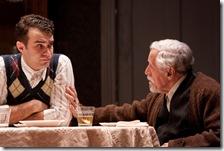 Gallagher, Nussbaum at table, h