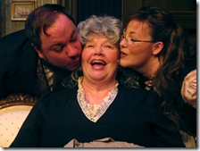 Jon Steinhagen, Mary Redmon and Patricia Austin
