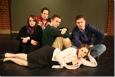 "5 main characters of ""Breakfast Club"""