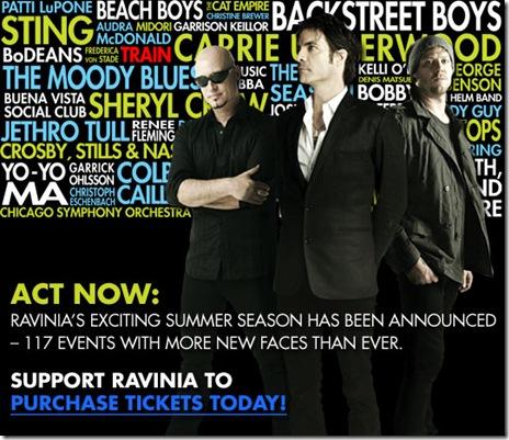 ravinia banner
