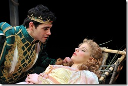 SLEEPING BEAUTY--Ryan Reilly as Prince Hunter, Jessie Mueller as Amber