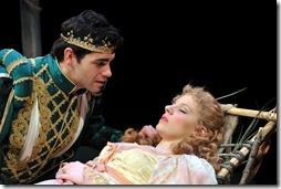 SLEEPING BEAUTY--Ryan Reilly as Prince Hunter, Jessie Mueller as Amber