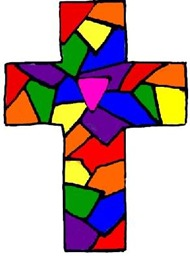 stained-glass-rainbow-cross