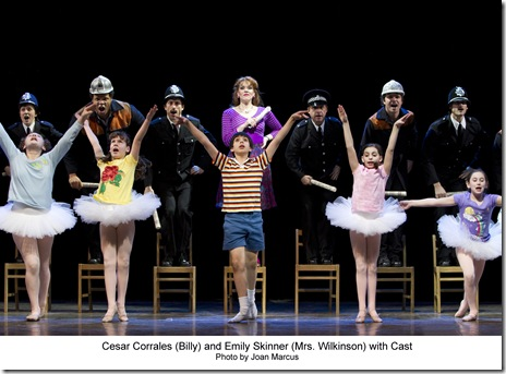 Emily Skinner, Cesar Corrales and Cast