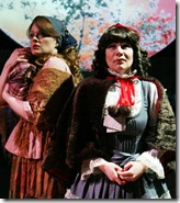 Rachel Quinn as Cinderella and Jeny Wasilewski as Little Red Ridinghood