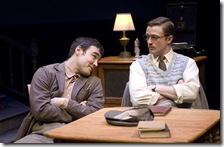 Robert Belushi (Lar) and Matt Schwader (Desmond)