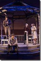 Robert Belushi (Lar), Matt Schwader (Desmond), Joanne Dubach (Dolly) and Melanie Keller (Mibs)