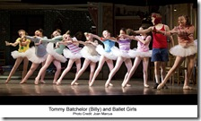 Tommy Batchelor and Ballet Girls