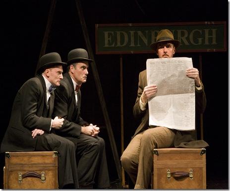 Scott Parkinson, Eric Hissom and Ted Deasy - Photo by Craig Schwartz