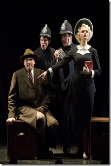 "The Cast of ""The 39 Steps"" - photo by Craig Schwartz"