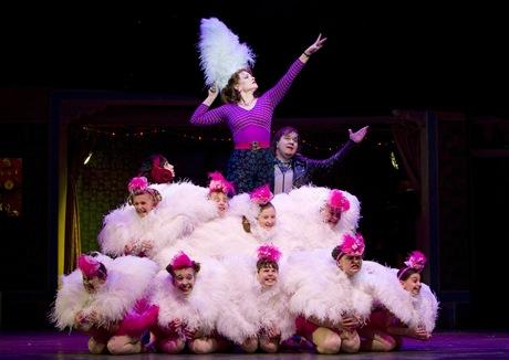 Corrales, Skinner, Hammond and Ballet Girls
