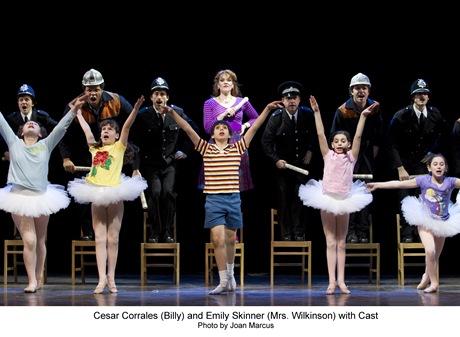 Emily Skinner, Cesar Corrales and Cast