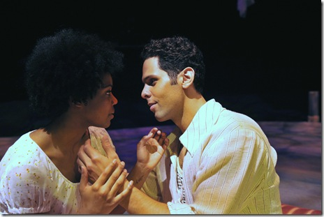 ISLAND- Chasten Harmon as Ti Moune and Brandon Koller as Daniel