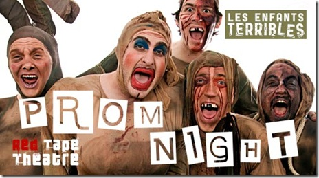 Les enfants Terrible - Prom Night postcard