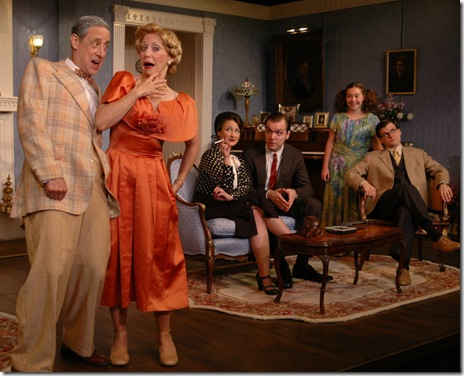 Entire cast of Philadelphia Story - Circle Theatre - 006
