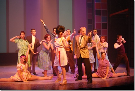 Ryan Hunt and the Cast of Hairspray with Ana Beleval