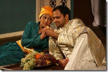 Minita Gandhi (Viola) and Anish Jethmalani (Orsino)