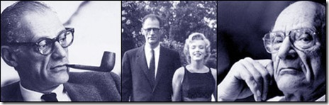 Arthur Miller montage - includes Marilyn Monroe