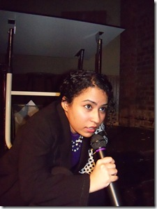 "Shalaka Kulkarni from Prop Thtr's ""Debris of the Prophet"""