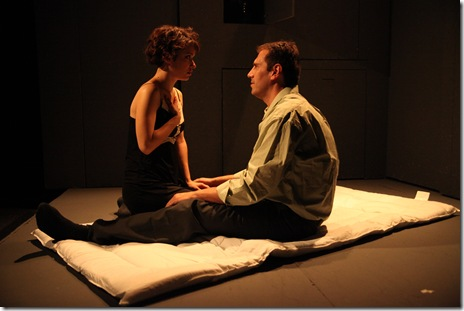 "A scene from Strangeloop Theatre's ""The Sound of the Yellow Flower"""