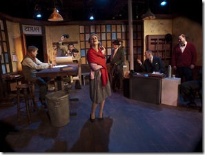 """Eclipse Theatre's """"A Memory of Two Monday"""" is now playing at the Greenhouse Theater Center through October 17th"""