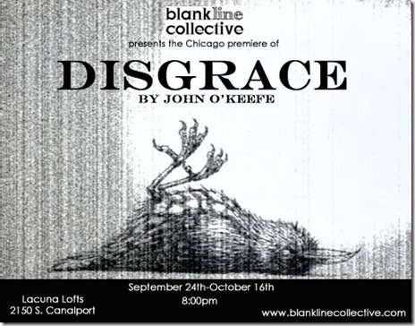 blank line collective - disgrace card