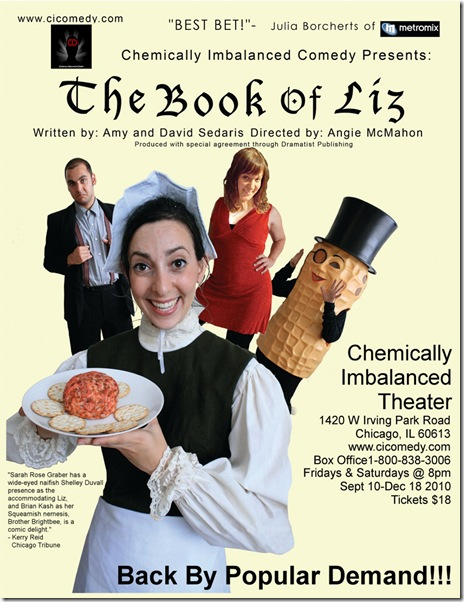 book of liz poster - large