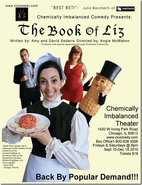 book of liz poster - large