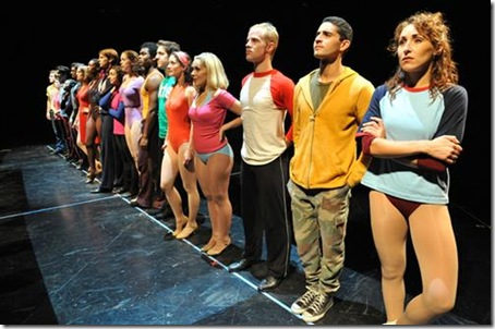 Chorus Line Cast - Marriott